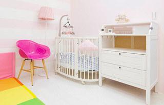 120平北欧风格三居婴儿房装修