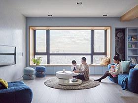 150平现代简约风格公寓效果图 围绕孩子的设计