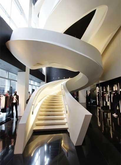 旋转楼梯设计实景图