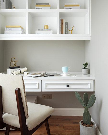 180平美式风格四居卧室书房装修