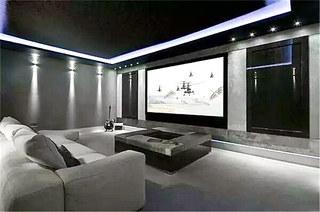 豪宅装修设计家庭影音室