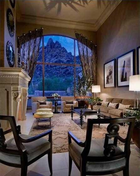 沙发摆放搭配装修装饰效果图