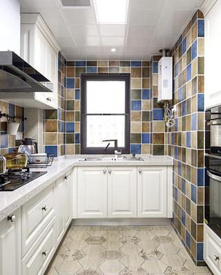 105平简约风格三居整体厨房装修