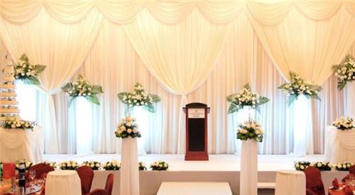 婚礼大厅布置效果图鉴赏 韩式婚礼大厅如何布置图片