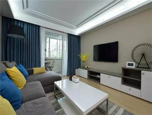 90平方米三室一厅装修效果图 7万打造90平灵动的生活空间