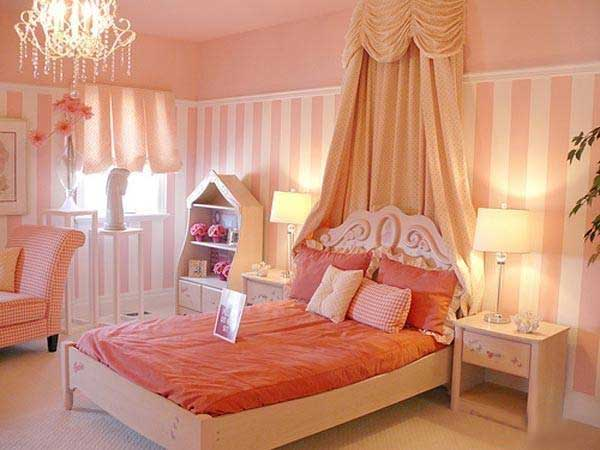 女生卧室幔帐设计图