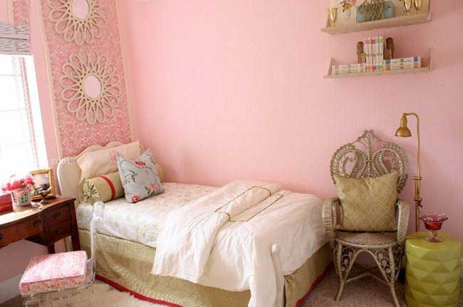 单身女生卧室效果图