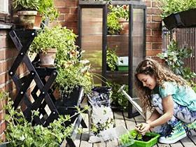 10个阳台绿植收纳效果图 与清新空气作伴