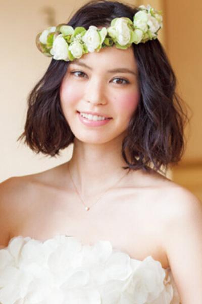 新款新娘发型图片欣赏