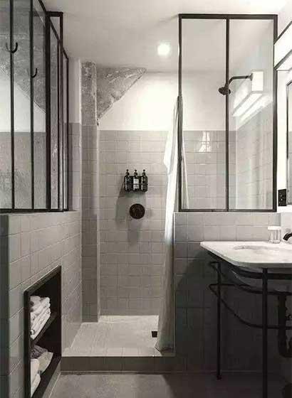 卫生间干湿分离设计参考图