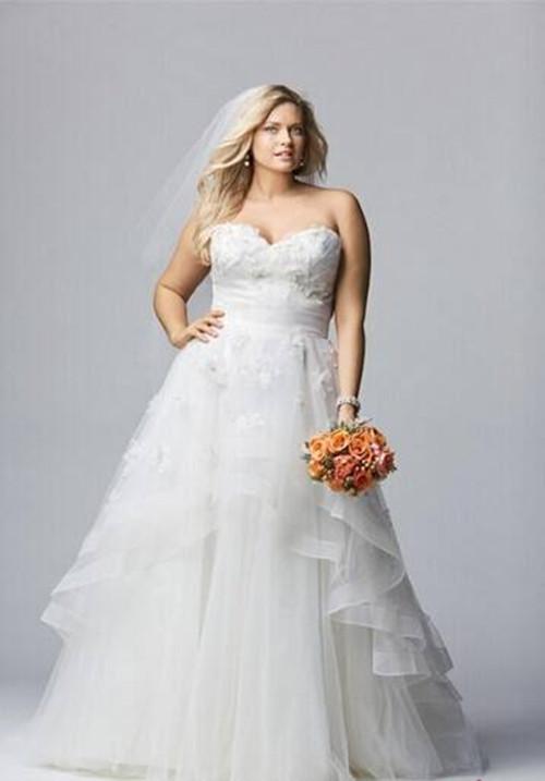 新娘婚纱 显瘦_教新娘你怎样穿婚纱显瘦