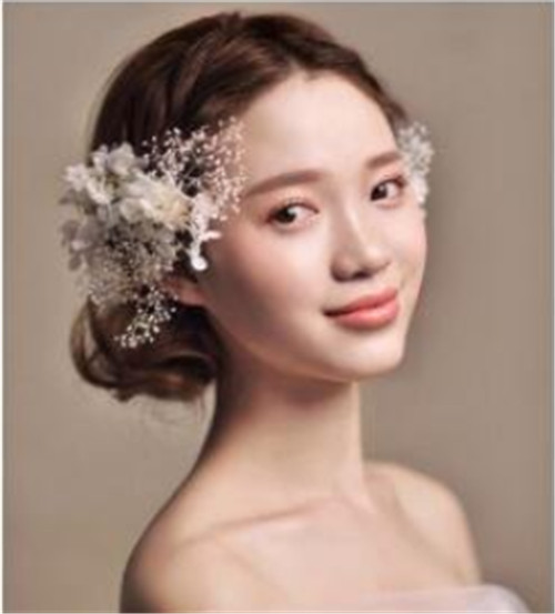 影楼新娘发型图片2017
