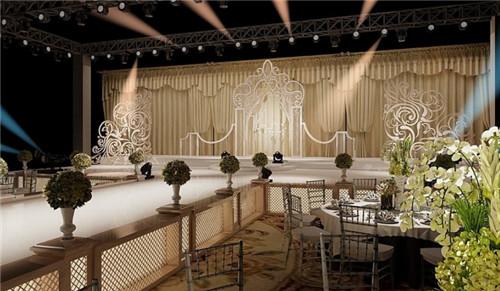 欧式婚礼现场布置效果图欣赏 怎么打造欧式婚礼现场图片