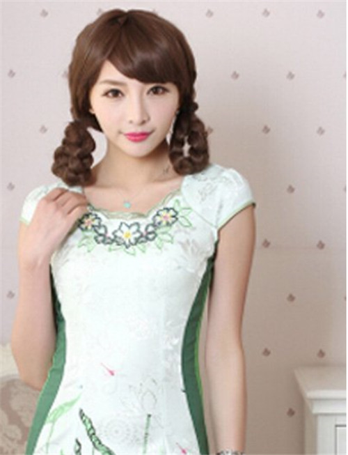 新娘旗袍发型图片2017 新娘旗袍发型怎么做好看