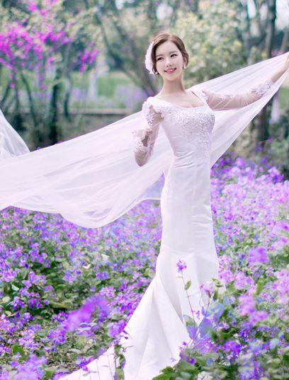 单人婚纱照姿势要怎么摆 拍婚纱照摆姿势小技巧
