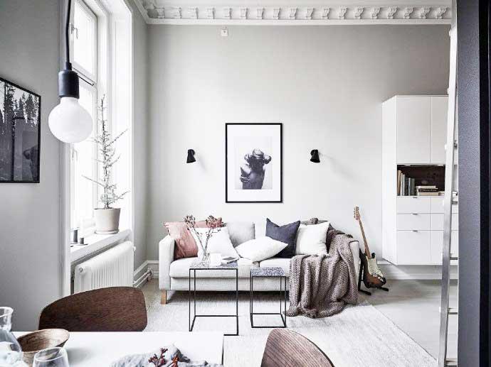 北欧风格客厅装修图