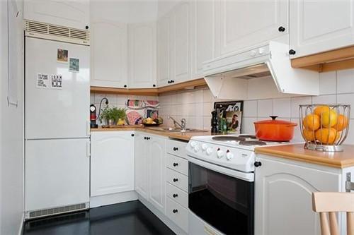 厨房橱柜效果图 小户型厨房适合哪种橱柜图片