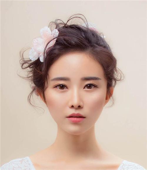 中式新娘造型图片欣赏 2017中式新娘盘发盘点