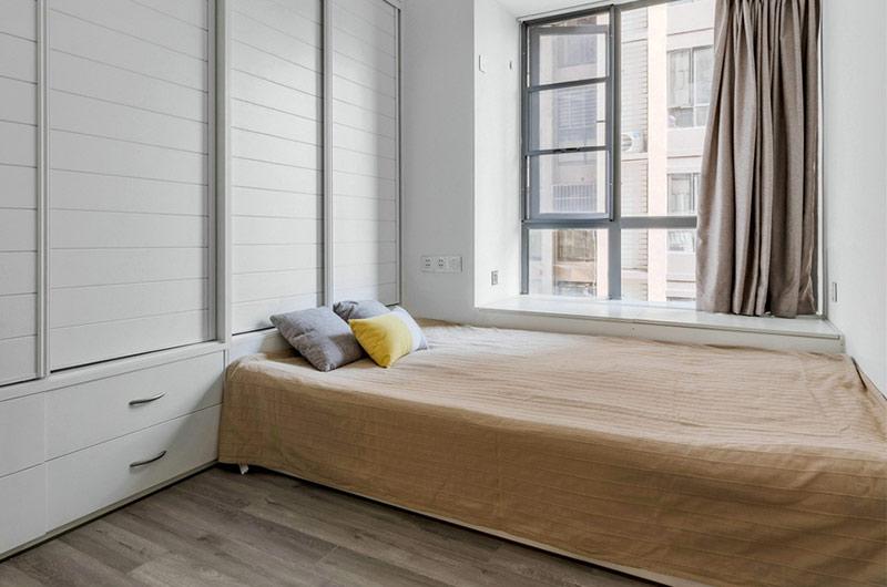 简约风格公寓装修次卧装修图
