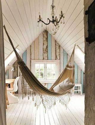 室内吊床布置装修图片