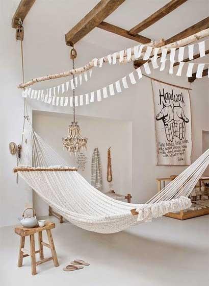 美式室内吊床设计效果图