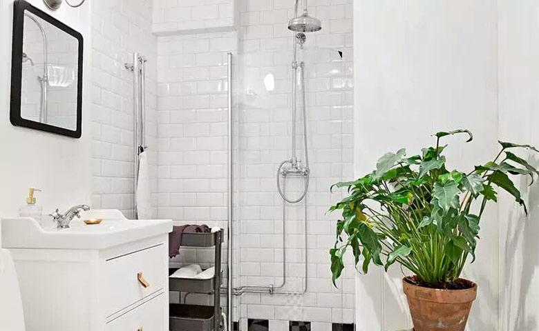 70平小户型装修卫生间装饰图