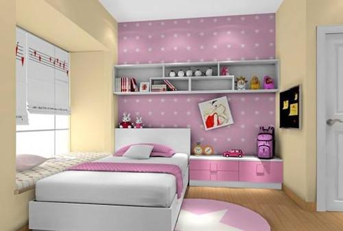 10平米小房间装修效果图 小房间也可以设计得美美哒