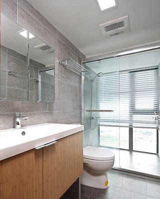 89平北欧风格二居卫生间设计
