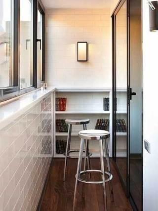 阳台改造鞋柜收纳图