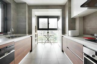 161平北欧风格三居整体厨房装修