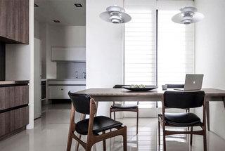 现代风格公寓餐厅效果图