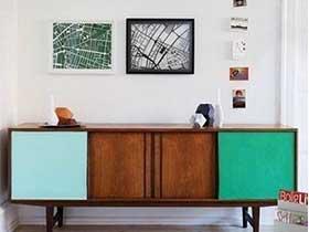 漂亮着省空间  10个装饰柜设计实景图
