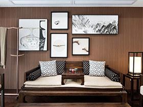 138平新中式风格装修 享受心灵的释放