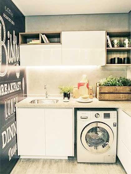小户型洗衣房装修平面图