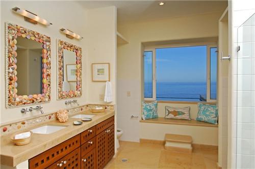 衛生間飄窗裝修效果圖 簡單實用的衛生間飄窗設計