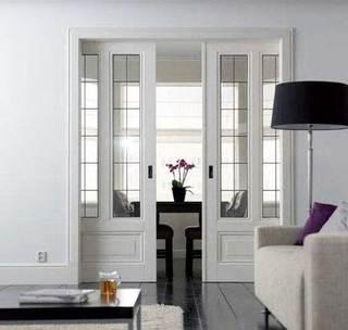 室内推拉门装修装饰效果图