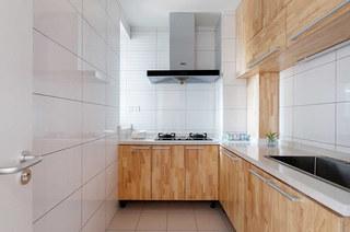 89平简约风格二居整体厨房装修