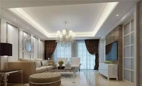 最新客厅吊顶效果图 四款风格迥异的大厅吊顶