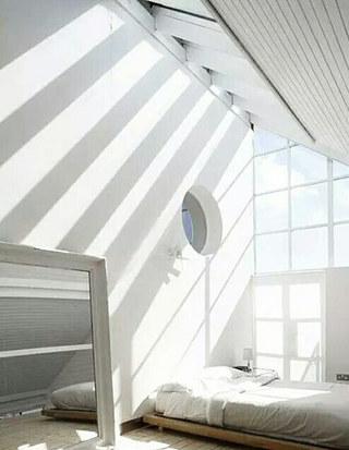 顶层阁楼设计卧室效果图