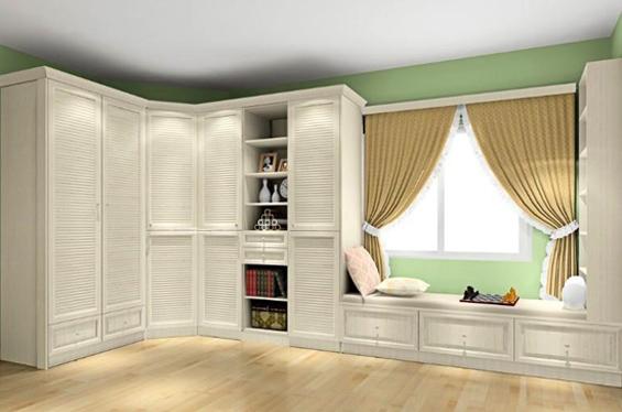 卧室柜子怎么选 收纳柜为你打造花样空间图片