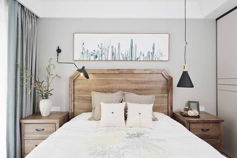 现代简约风两居室装修装饰效果图