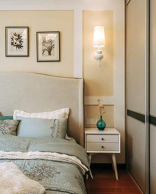 129平简约风格三居卧室壁灯图片