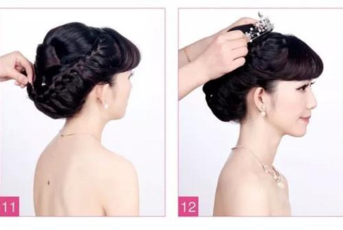 新娘发型图解教程介绍 2017新娘发型怎么打造