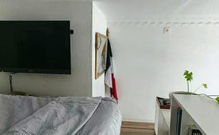 20平单身公寓装修卧室装修装潢