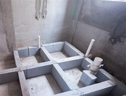 下沉式卫生间装修方法 下沉式卫生间装修注意事项
