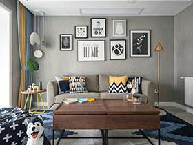 90平现代北欧风格两室两厅装修 闲暇小天地