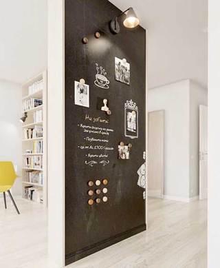 室内黑板墙装修装饰效果图