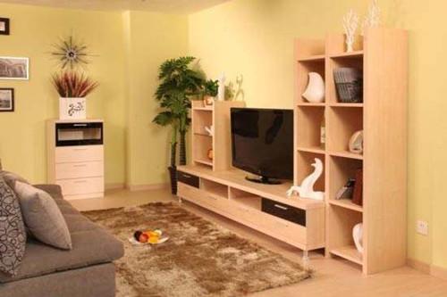 板式家具定制以造型简单,性价比高,而且还可以让消费者参与到产品设计图片
