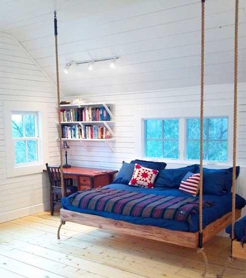 室内吊床设计布置图片