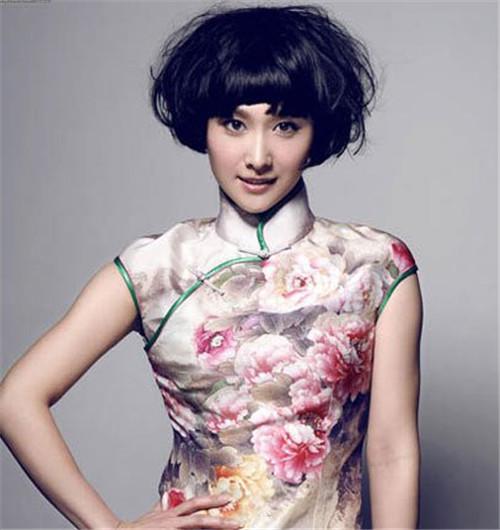 旗袍新娘配什么发型好 新娘旗袍造型欣赏